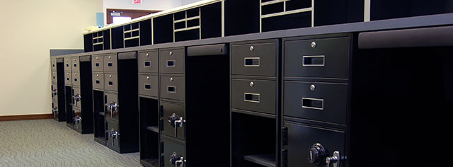 Under Counter Banking Equipment